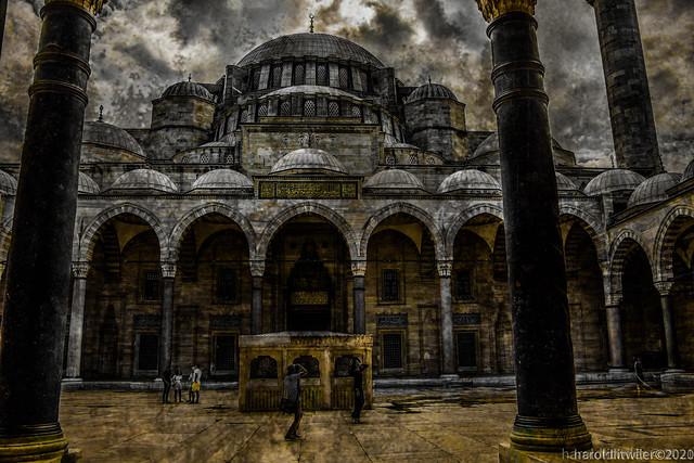 Suleymaniye Mosque, Istanbul Turkey