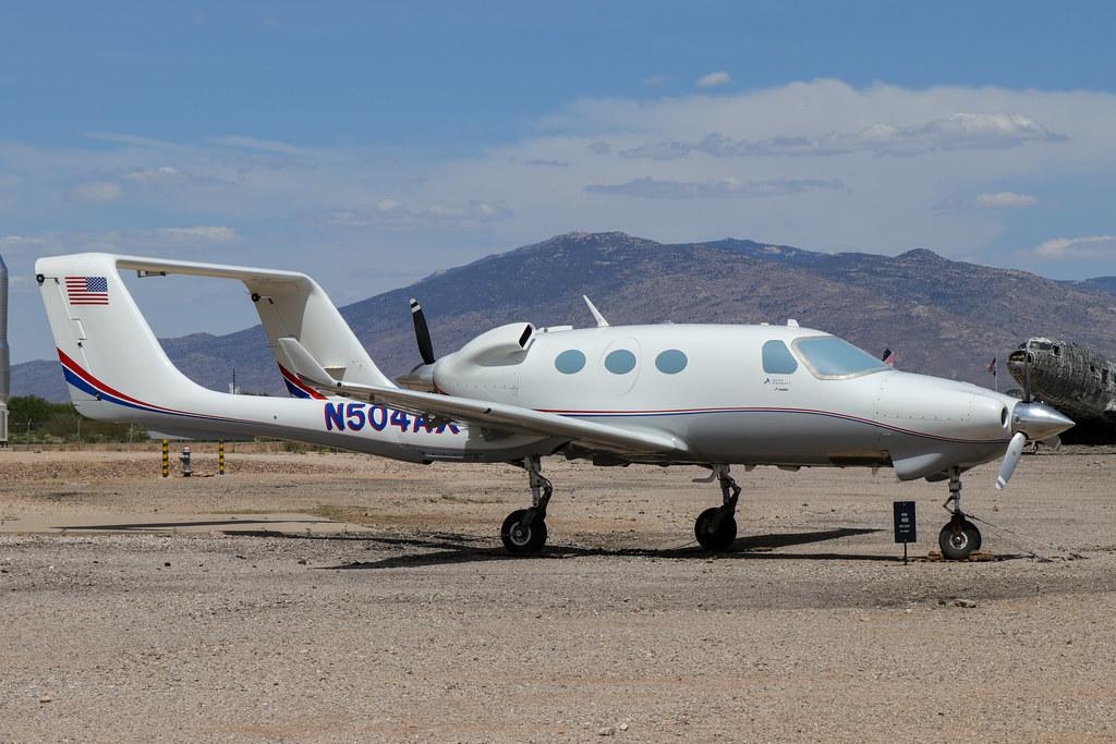 N504AX - Adam A500 Carbonaero - Pima Air & Space Museum May 2019.