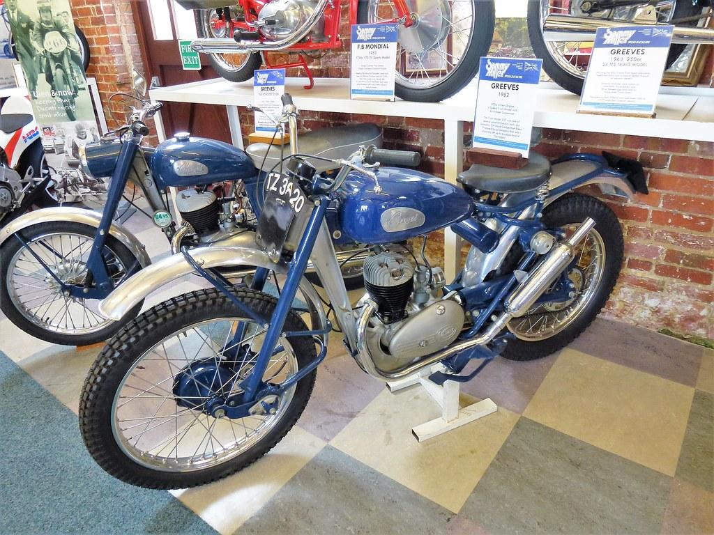TZ 3820 a 1952 Greeves 197cc Villiers engine 4 speed trials model -  Sammy Miller Museum