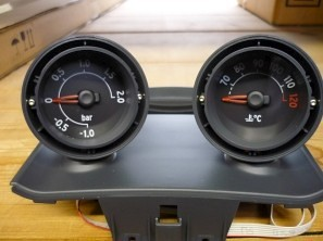 Smart Roadster Dashboard Pods, plain Base Plate