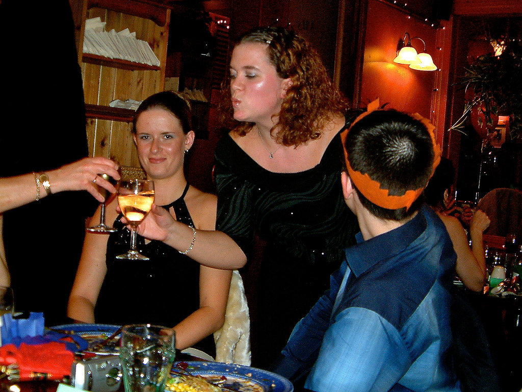 Works Christmas Meal 2-12-2003
