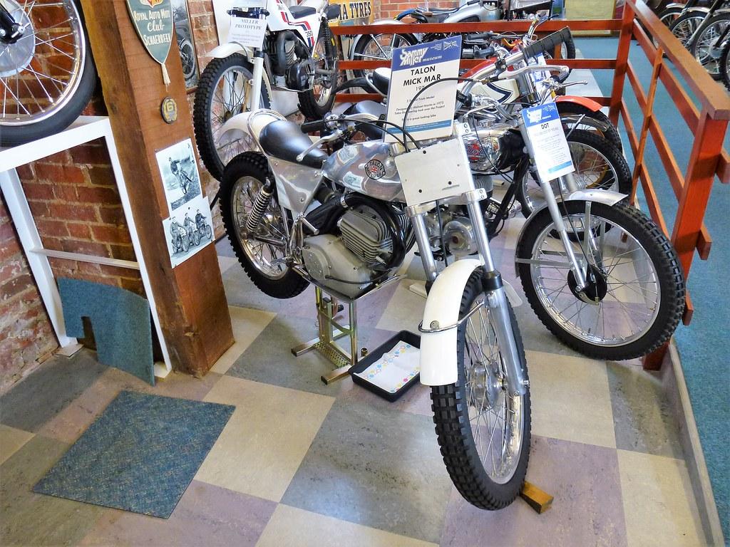 1973 Talon Mick Mar 5 speed trials model. - Sammy Miller Museum