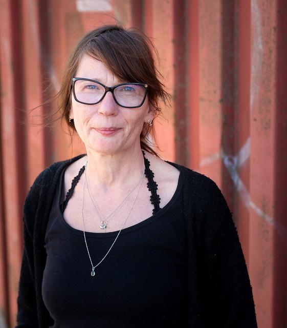 Christina, Social Worker (work portraits 2)