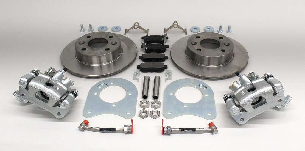 Rear disc brake conversion set 236 mm by S-Mann