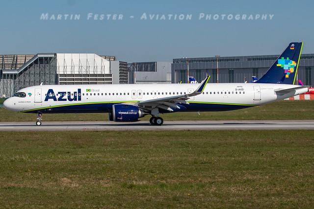 D-AVZI // Azul Linhas Aereas // A321-251NX // MSN 10173 // PR-YJD
