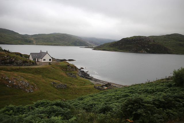 Loch Glencoul near Unapool