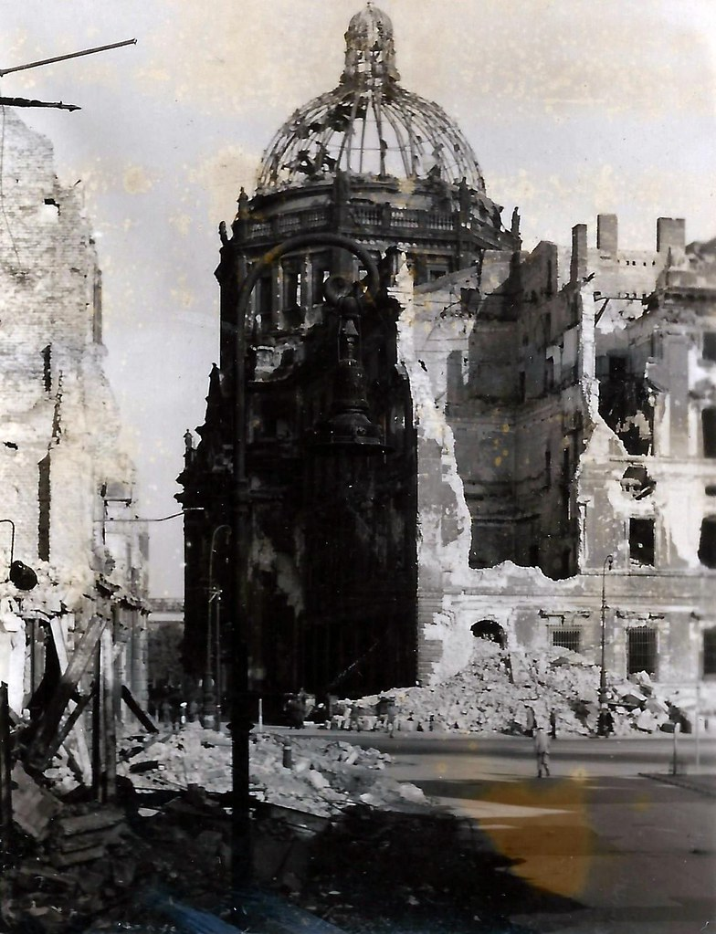 Berlin, Germany, Stadtschloss, Palace, War Damage