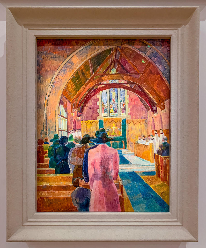 Church Interior, c1941-42 by Grace Cossington Smith