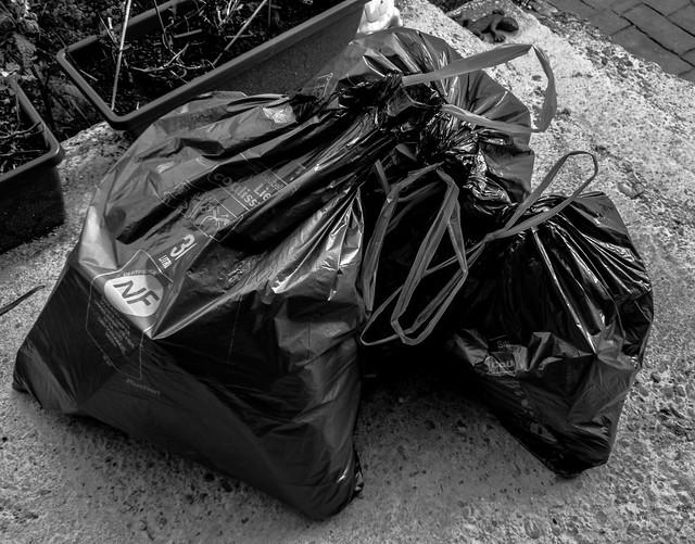 2021-04-20 - Mardi - 110/365 - Les poubelles de la nuit - (Agathe Ze Bouse)