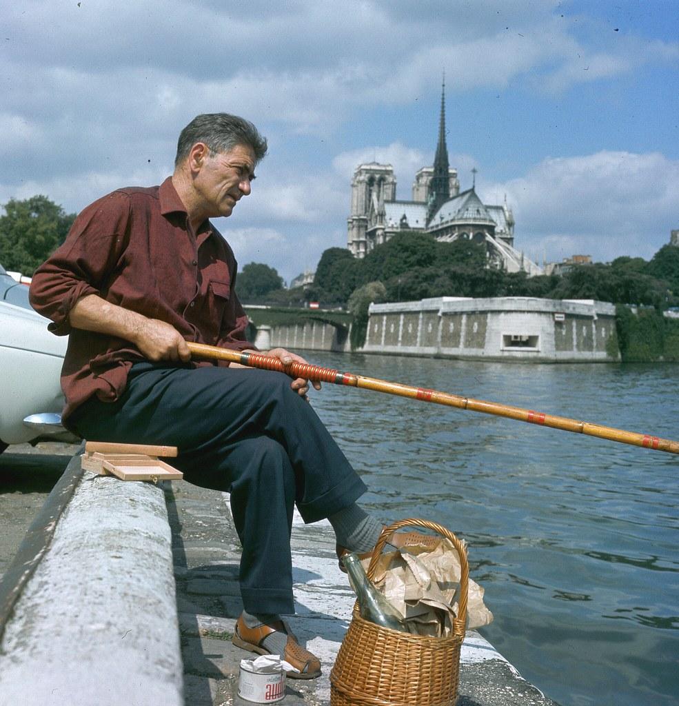 16. Рыбалка на Сене