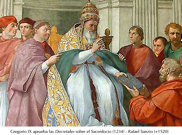 Sanzio - Gregorio IX
