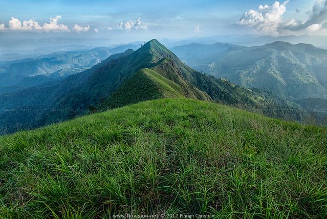 the greenest green, Kanchanaburi, Thailand