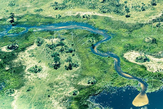 Okavango delta, Botswana. Explored