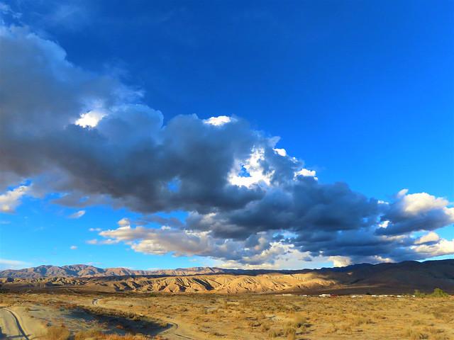 sky road desert
