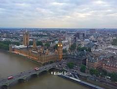 Houses of Parliament,  London    .....   Dusk