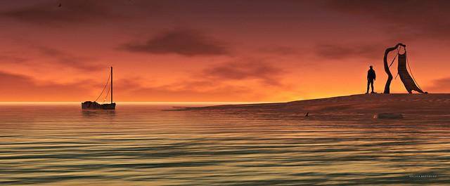 Dolphin Point @ Sunset