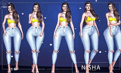 Nisha Bento Poses  pack