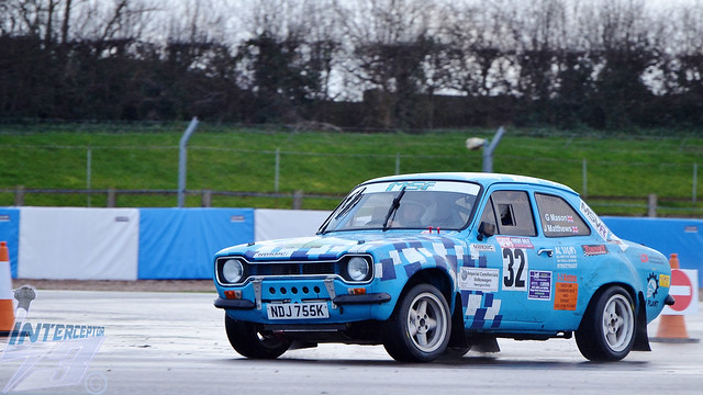 Gary Mason/John Matthews, Ford Escort Mexico 1998 cc Class 3, 2017 Imperial Commerials Volkswagen Donington Rally, Donington Park, 5th March