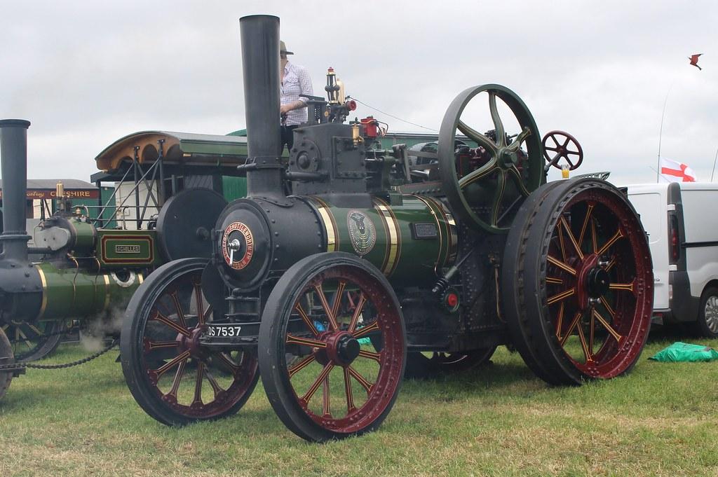 065 Clayton Shuttleworth General Purpose Engine (1919) DS 7537