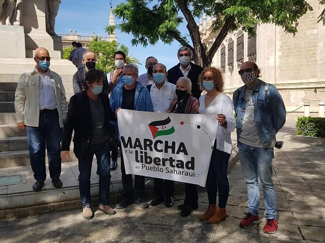 Marcha Libertad Pueblo Saharaui
