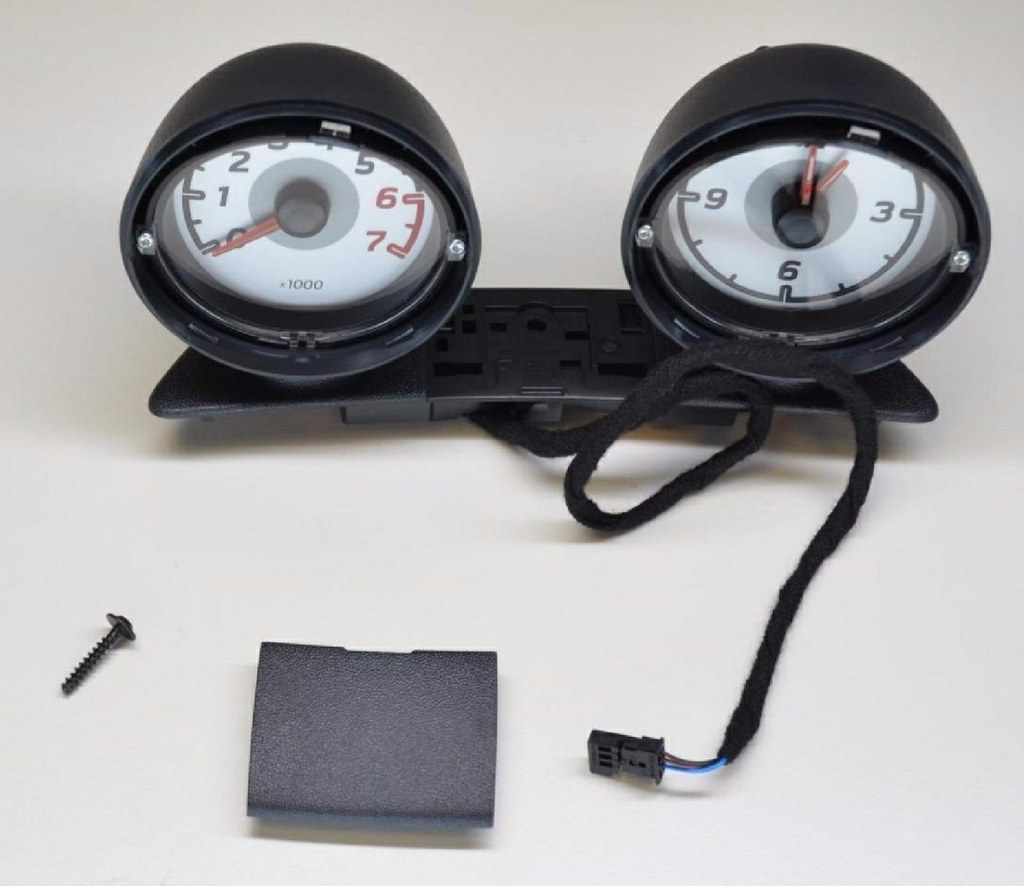 Smart Fortwo 451 FACELIFT dash pods rev. count and clock