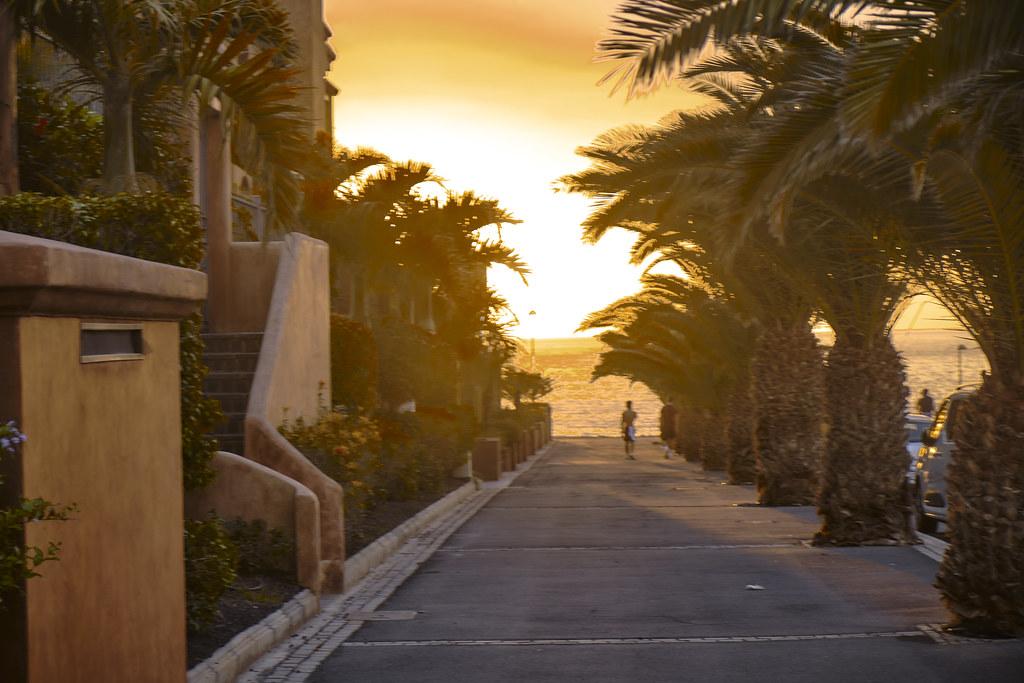 La calle del sol