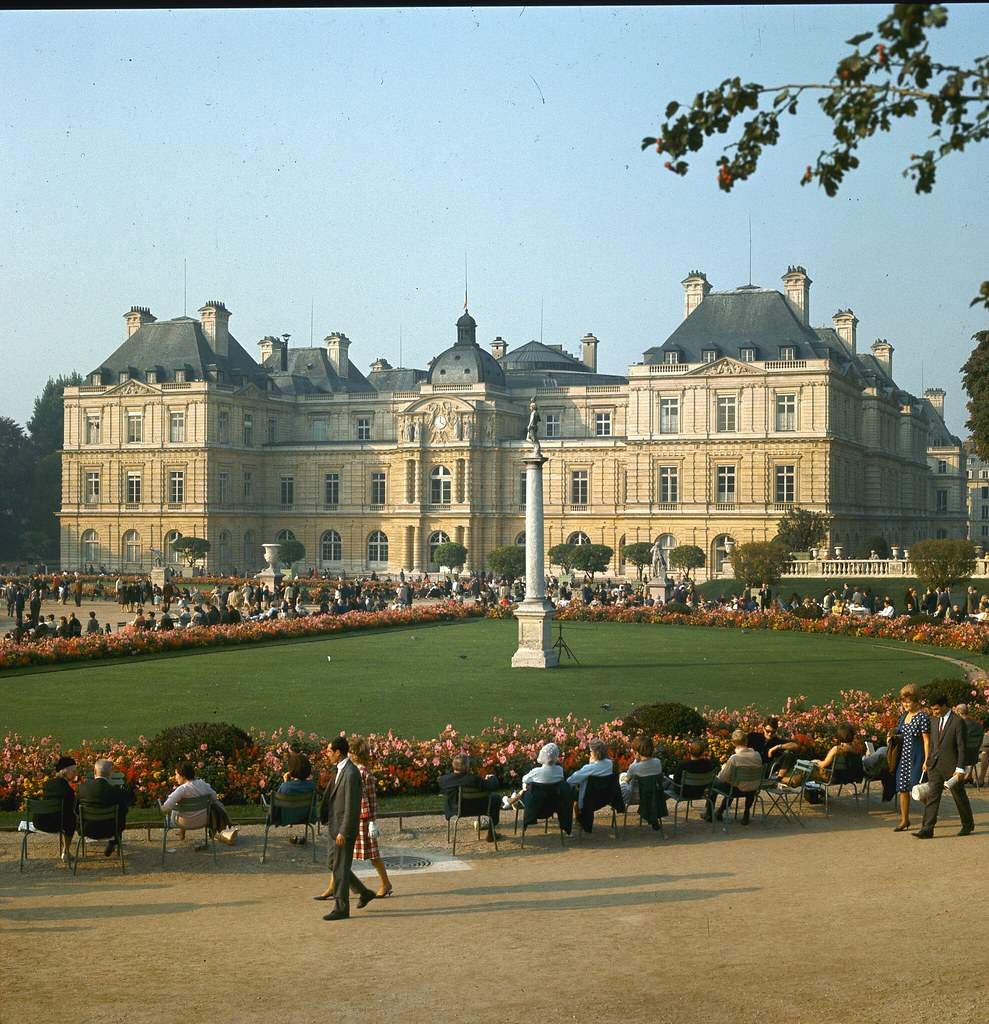 24. Люксембургский дворец и сад