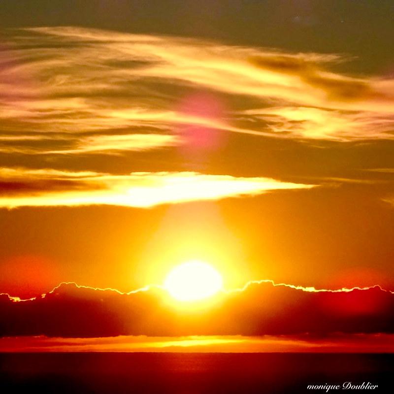 Lever de soleil en Baie des Anges