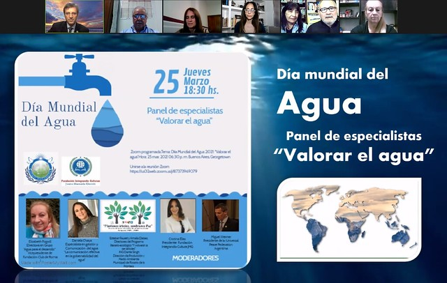 Argentina-2021-03-22-UPF-Argentina Cosponsors Conference to Honor UN World Water Day