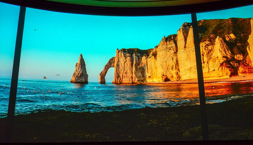 Impressions de France cliffs Epcot