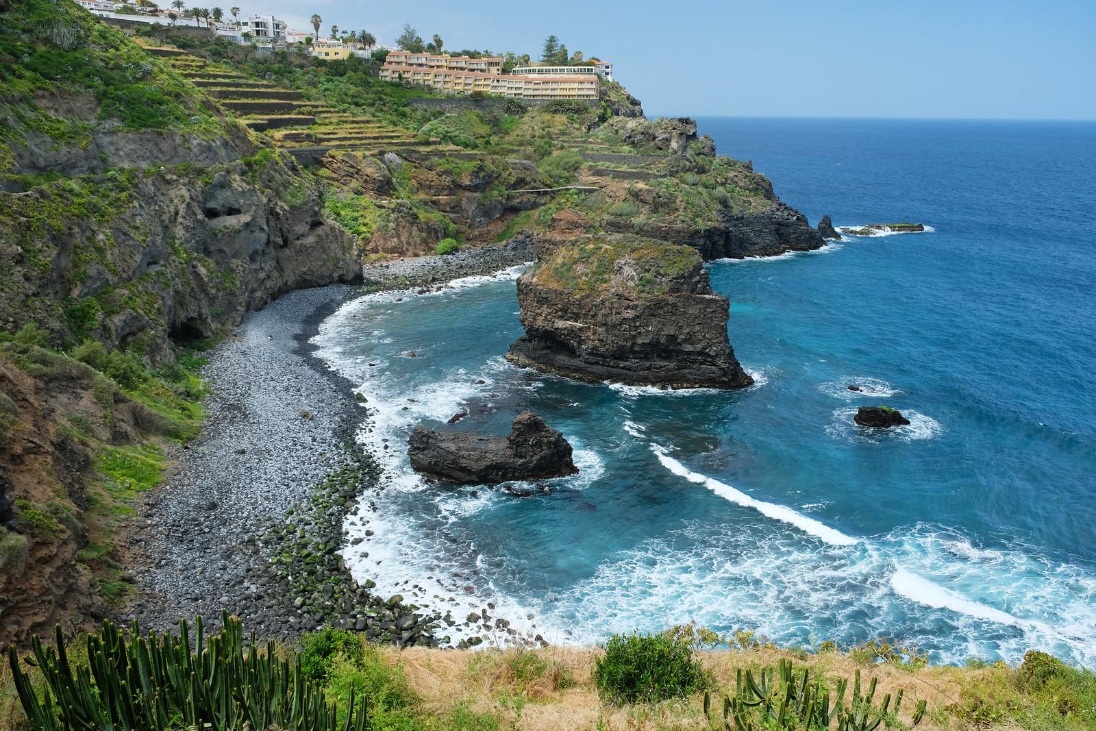 Playa de los Roques, Tenerife, Canary Islands, Spain