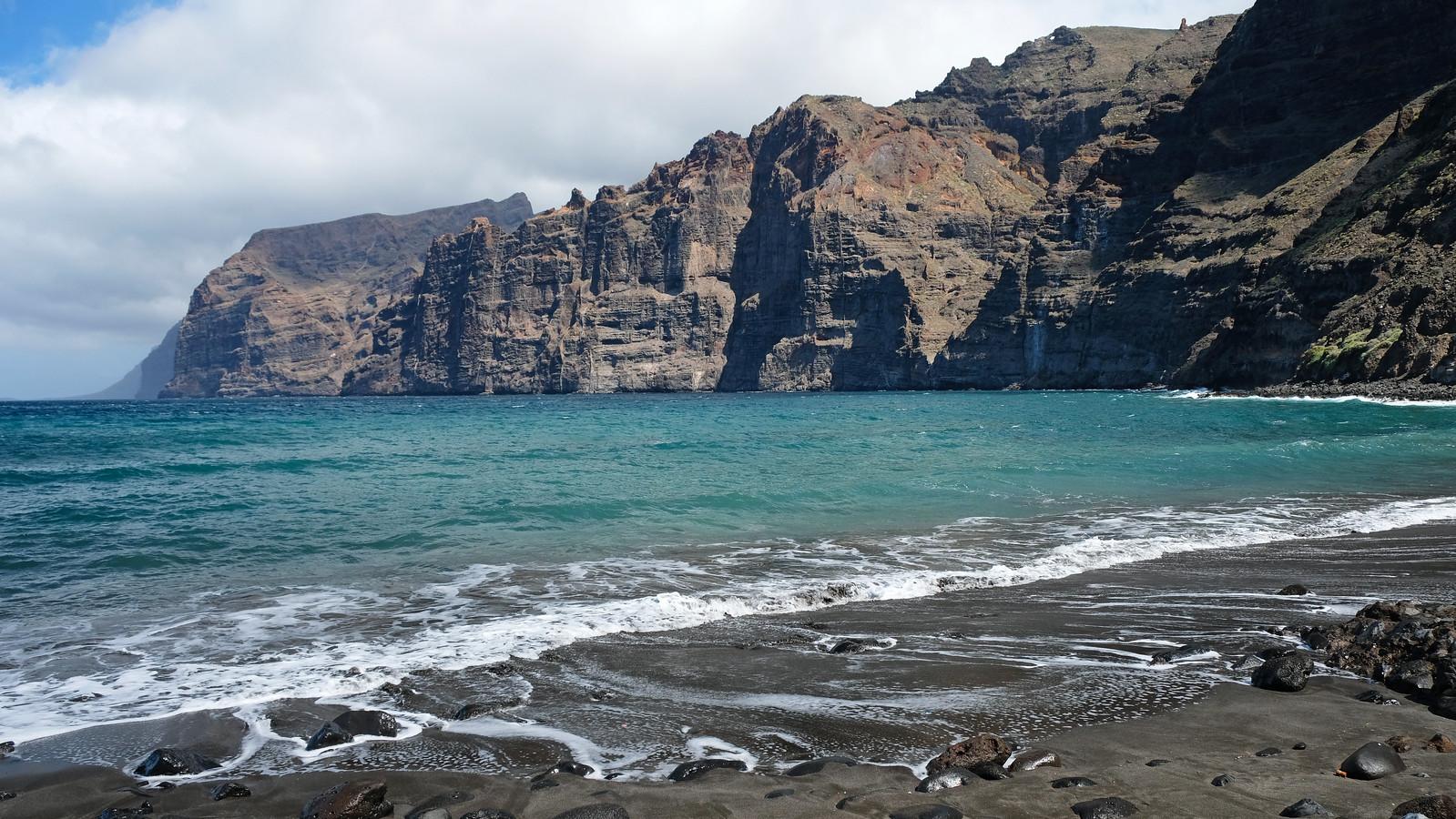Playa de los Gigantes, Tenerife, Canary Islands, Spain