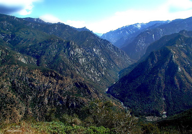 Kings Canyon National Park  - Almost Two Miles Down!  5724