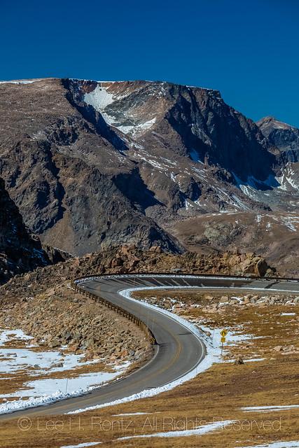 Beartooth Highway Climbing to Beartooth Pass
