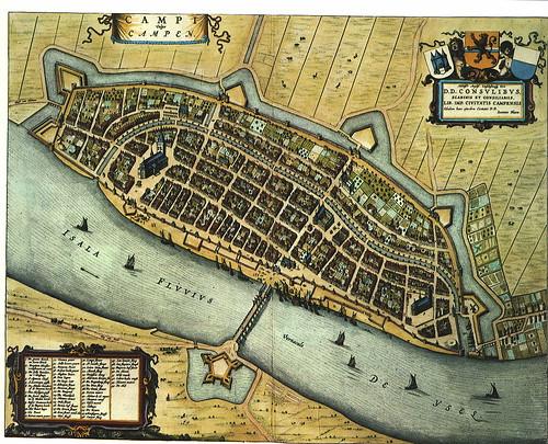 kampen old map