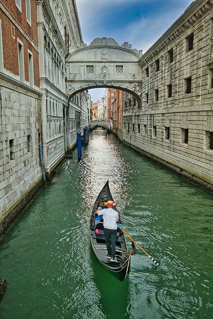 Venedig: Seufzerbrücke