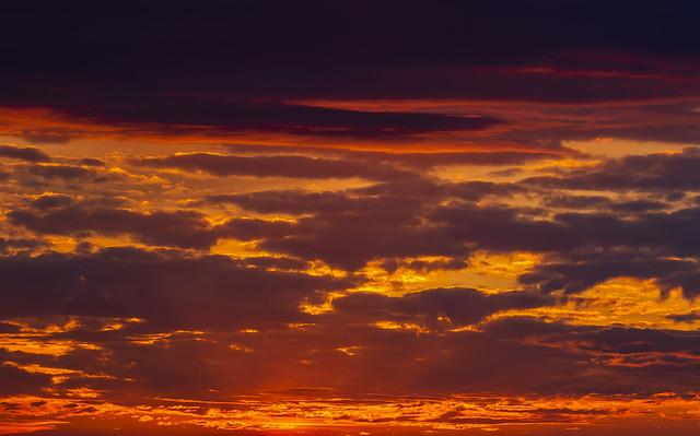 Tuesday´s sunrise, Madrid, Spain