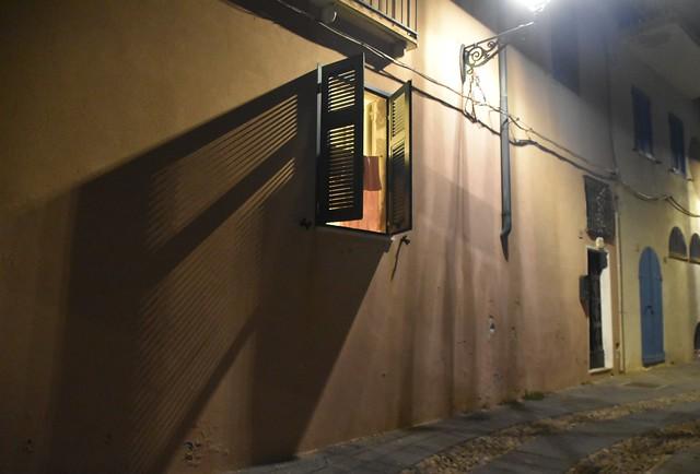 shadow at night