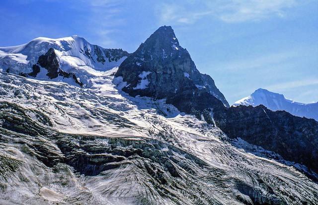Un ghiacciaio delle Alpi svizzere
