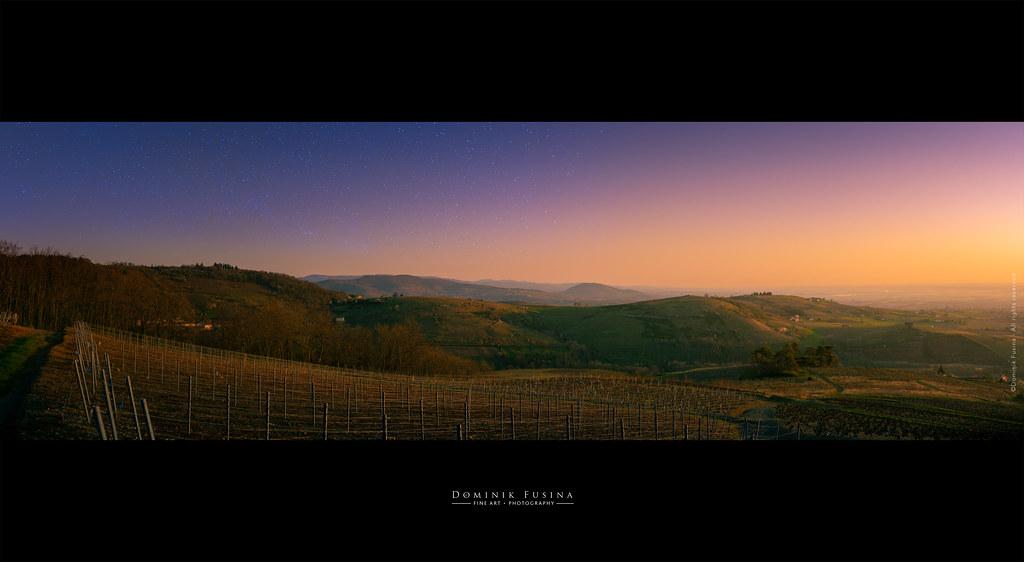 Sunrise in Beaujolais