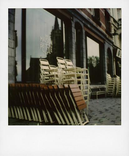 Lockdown ... (Parvis de Saint-Gilles, Brussels)