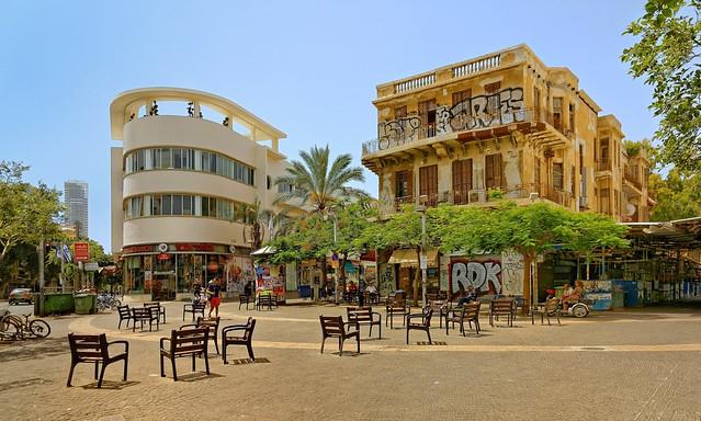 Tel Aviv / Allemby Street / Magen David Square