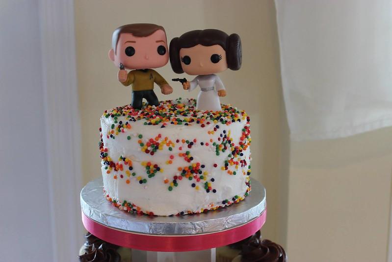 Cake by Dusti's Desserts