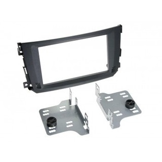 Smart ForTwo 451 facelift model 10-2010 2 din mounting Frame Car Radio Frame Adapter
