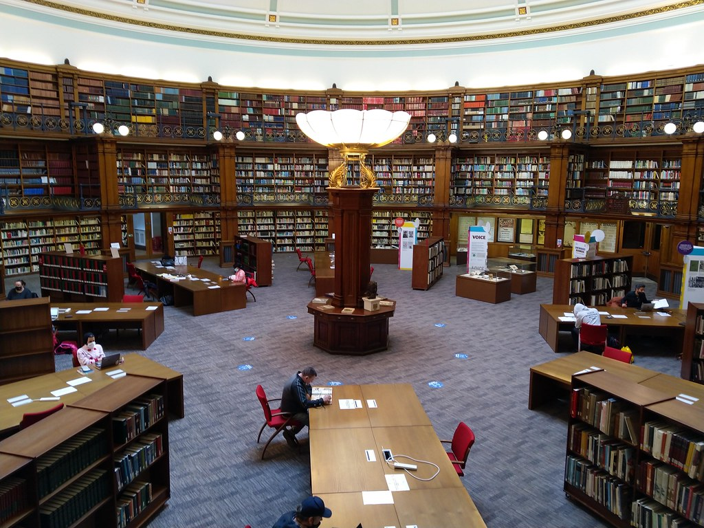 Interior of the Picton Reading Room, Liverpool Central Library