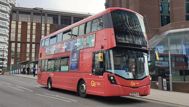 Go-Ahead London WHV52 (BF65 WJA) East Croydon 21/5/21