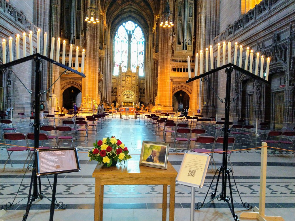 Looking towards the high altar, Liverpool Cathedral