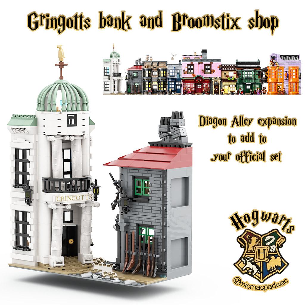Gringotts and Broomstix