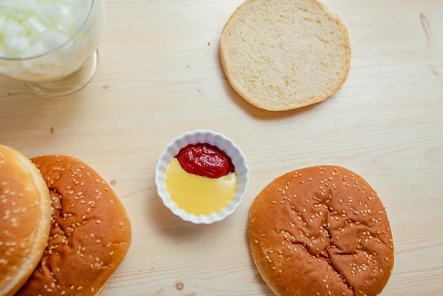 Mayo Ketchup Sauce Mix For Burger Recipe