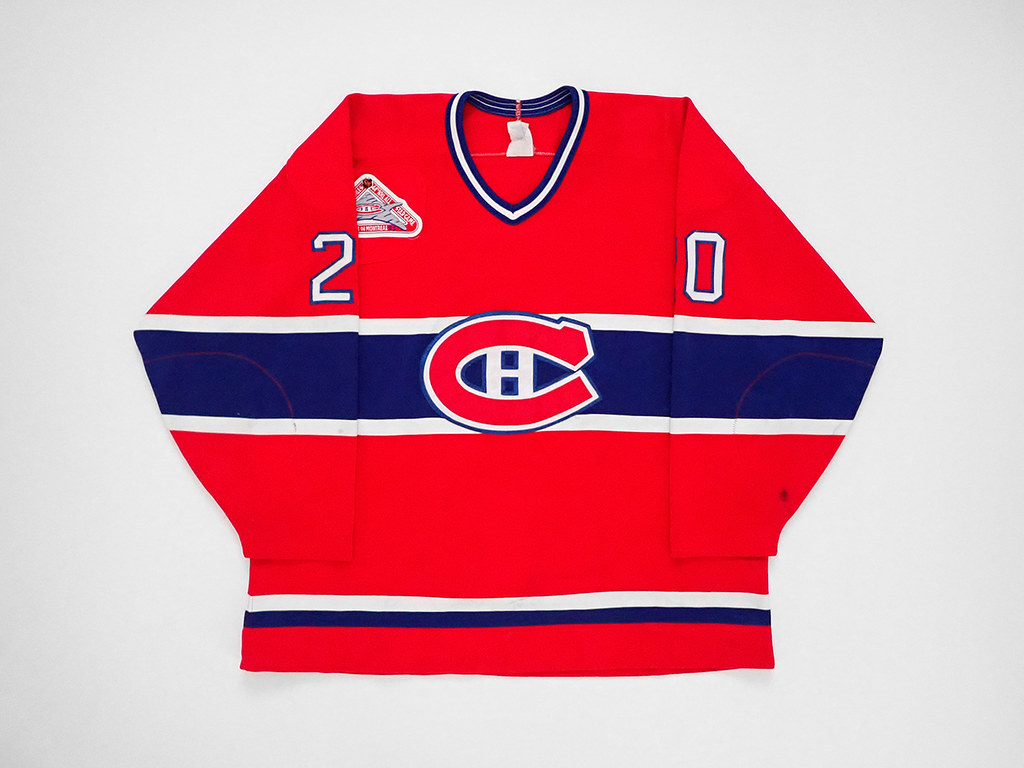 1992-93 Montreal Canadiens Patrik Carnback